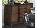 Bayshore Server in Oak by Home Elegance - HEL-5447-40