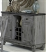 Fulbright Server in Gray Rub Through by Home Elegance - HEL-5520-40