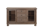 Chartreaux Server in Natural Tone by Home Elegance - HEL-5589-40M