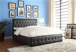 Baldwyn Queen Bed in Black by Home Elegance - HEL-5789BK-1