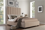 Neunan Queen Bed in Beige by Home Elegance - HEL-5876BE-1