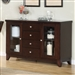 Daisy Server in Espresso by Home Elegance - HEL-710-40