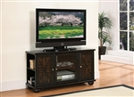 "Rufus 48"" TV Stand in Dark Brown by Home Elegance - HEL-8058-T"