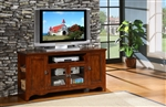 "Carla 60"" TV Stand in Oak by Home Elegance - HEL-8060-T"