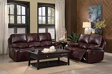 Enjoyable Haughton 2 Piece Sofa Set In Brown By Home Elegance Hel 8240 2S Gmtry Best Dining Table And Chair Ideas Images Gmtryco