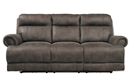 Aggiano Power Double Reclining Sofa in Dark Brown by Home Elegance - HEL-9911DBR-3PWH