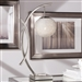 Etsu Table Lamp in Satin Nickel by Home Elegance - HEL-H13441