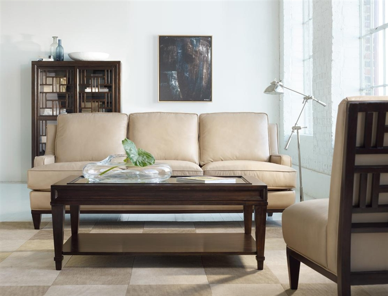Ludlow Loveseat In Campania Benvento Leather By Hooker Furniture  HF 1030 52007