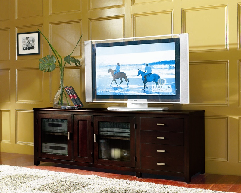 Ordinaire Mirabel 73 Inch Entertainment Console In Rich Espresso Finish By Hooker  Furniture HF 382 55 469
