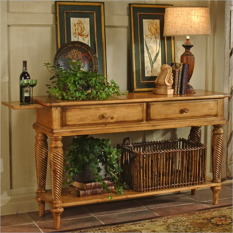 Wilshire Sideboard In Antique Pine Finish By Hillsdale Furniture 4507 856