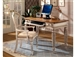Wilshire 3 Piece Desk Set in Antique White and Pine Two Tone Finish by Hillsdale Furniture - 4508-860