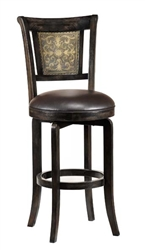 Camille Swivel Bar Stool by Hillsdale - HIL-4861-830