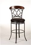 Dundee Swivel Bar Stool by Hillsdale - HIL-5026-830