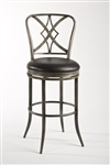 Jacqueline Swivel Counter Stool by Hillsdale - HIL-5124-826