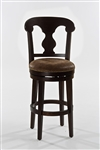 Burkard Swivel Bar Stool by Hillsdale - HIL-5572-830A