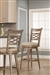 Chesney Swivel Bar Stool by Hillsdale - HIL-5940-830