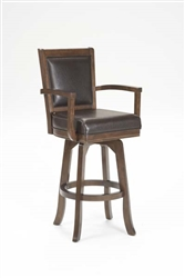 Ambassador Swivel Bar Stool by Hillsdale - HIL-6124-830