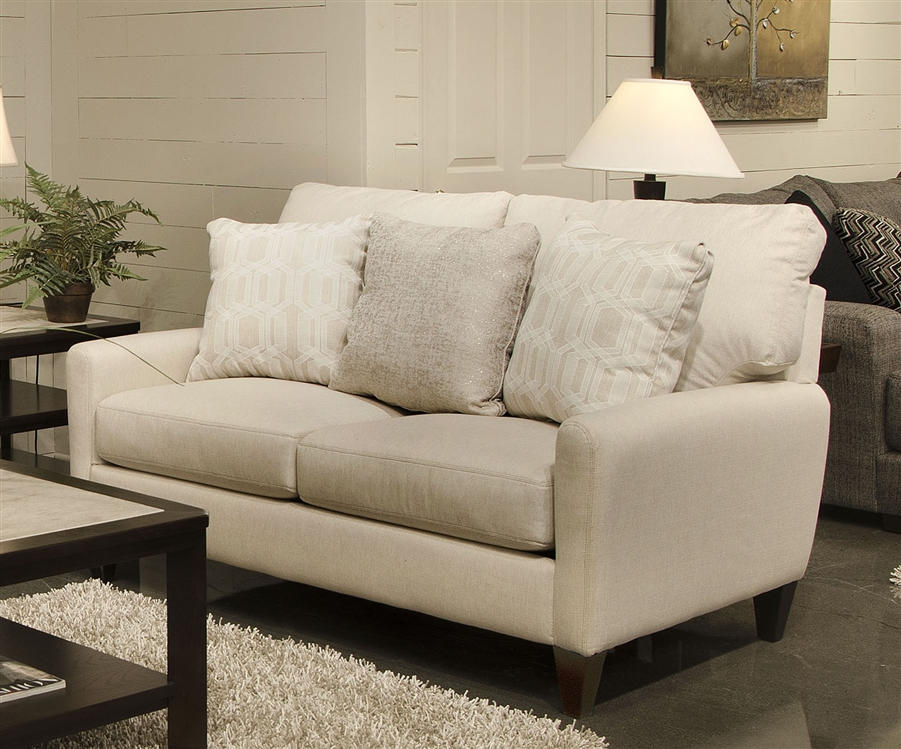 Ackland Loveseat In Charcoal, Twilight Or Linen Fabric By Jackson Furniture    3156 02