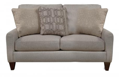 Ackland Loveseat with USB Port in Charcoal, Twilight or Linen Fabric by Jackson Furniture - 3156-26