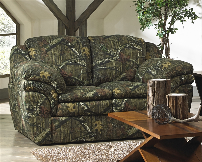Huntley Loveseat In Mossy Oak Or Realtree Camouflage Fabric By Jackson  Furniture   3212 02