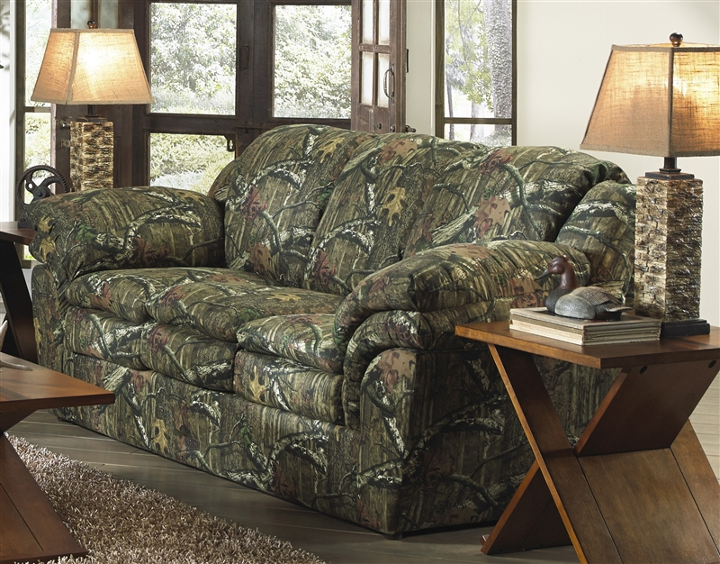 Huntley Sofa In Mossy Oak Or Realtree Camouflage Fabric By Jackson Furniture    3212 03