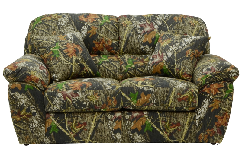 Cumberland Loveseat In Mossy Oak Or Realtree Camouflage