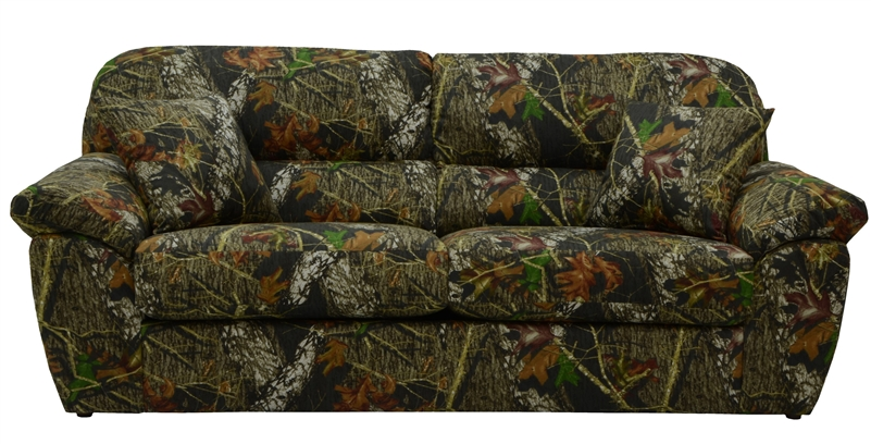 Cumberland Queen Sleeper Sofa In Mossy Oak Or Realtree