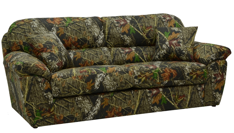 Cumberland Queen Sleeper Sofa In Mossy Oak Or Realtree