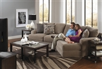 Malibu 2 Piece Sectional in Taupe Chenille Fabric by Jackson Furniture - 3239-2