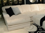 Malibu 2 Piece Sectional in Taupe Chenille Fabric by Jackson Furniture - 3239-2C
