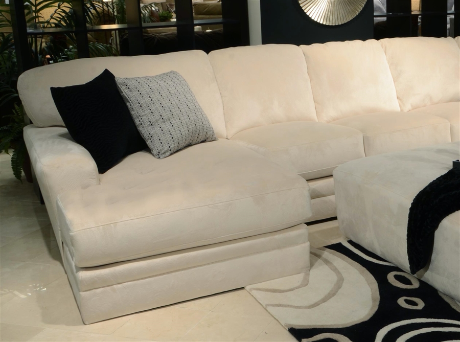 malibu 2 piece sectional in taupe adobe or sand chenille fabric by jackson furniture 32392c
