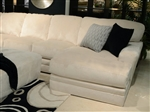 Malibu 2 Piece Sectional in Taupe Chenille Fabric by Jackson Furniture - 3239-2LS