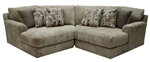 Malibu 2 Piece Sectional in Taupe Chenille Fabric by Jackson Furniture - 3239-2W