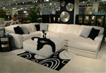 Malibu 3 Piece Sectional in Taupe Chenille Fabric by Jackson Furniture - 3239-3C