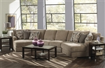 Malibu 3 Piece Sectional in Taupe Chenille Fabric by Jackson Furniture - 3239-3P
