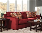 "Sutton Queen Sleeper Sofa in ""Algerian"" Chenille by Jackson - 3289-04-A"