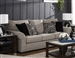 Maddox Sofa in Fossil Fabric by Jackson Furniture - 4152-03-FS
