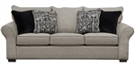 Maddox Queen Sleeper Sofa in Fossil Fabric by Jackson Furniture - 4152-04-FS