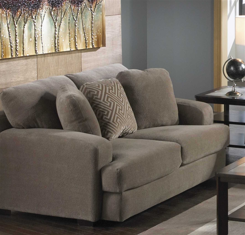 Palisades Loveseat In Porcini Color Fabric By Jackson Furniture   4186 02