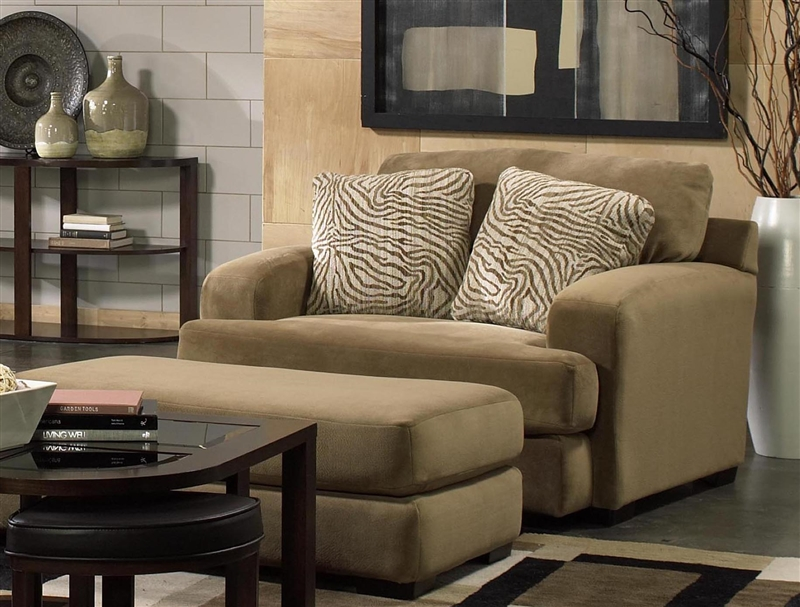 Palisades Loveseat In Bronze Color Fabric By Jackson Furniture   4186 02 B