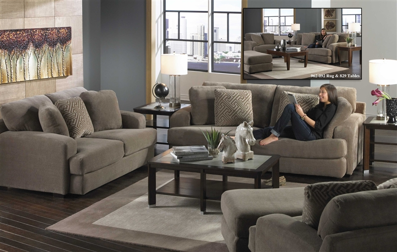 Amazing Palisades 2 Piece Sofa Set In Porcini Color Fabric By Jackson Furniture    4186 SET