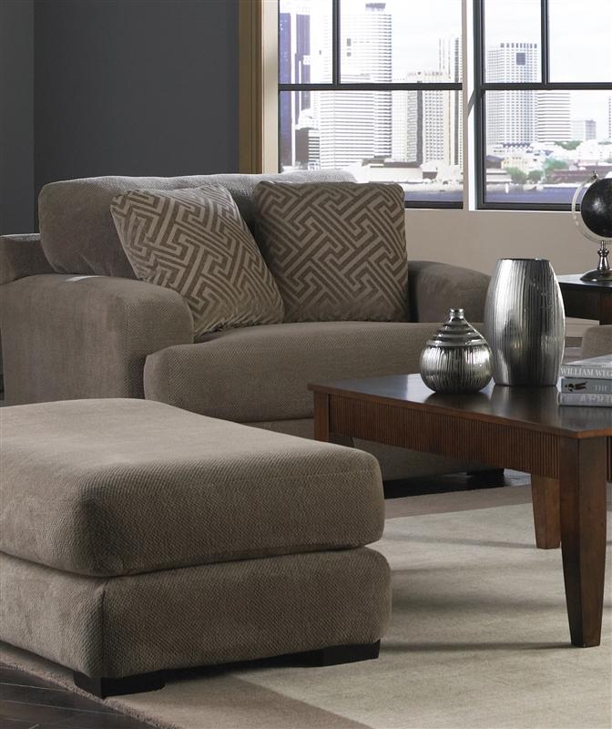 Superb Palisades 2 Piece Sofa Set In Porcini Color Fabric By Jackson Furniture    4186 SET