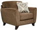 Alyssa Chair in Latte Fabric by Jackson Furniture - 4215-01-L