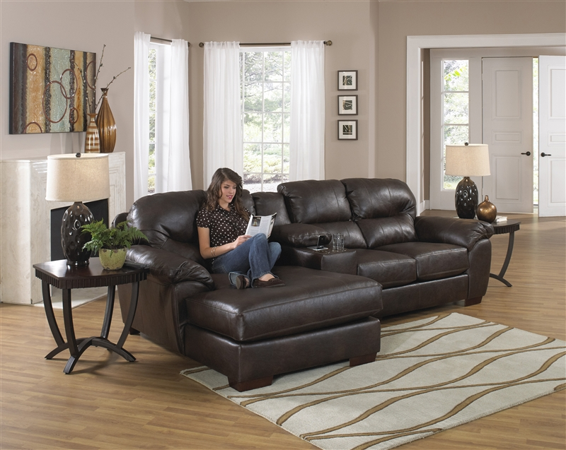 Lawson 3 Piece Leather Sectional By Jackson 4243 03