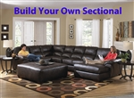 Lawson BUILD YOUR OWN Leather Sectional by Jackson - 4243