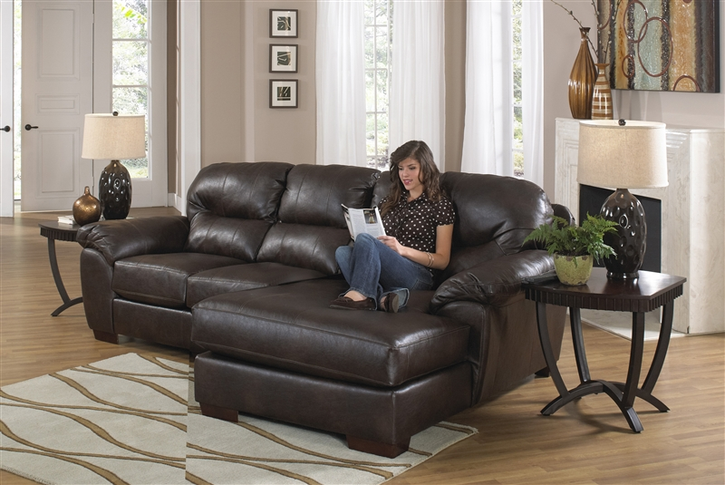 Lawson 2 Piece Leather Sectional By Jackson 4243 Larger Photo