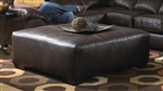 Lawson Leather Cocktail Ottoman by Jackson - 4243-28
