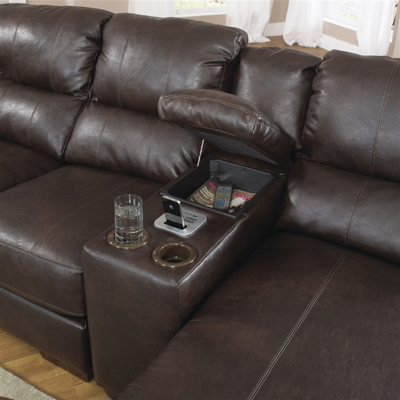 Terrific Lawson 3 Piece Leather Sectional By Jackson 4243 3 Ocoug Best Dining Table And Chair Ideas Images Ocougorg