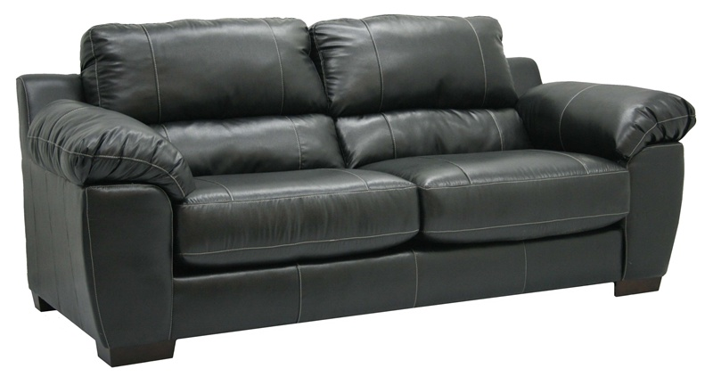 Swell Jetson Sofa In Black Leather By Jackson Furniture 4246 03 Beatyapartments Chair Design Images Beatyapartmentscom