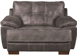 "Drummond Oversized Chair in ""Dusk"" Fabric by Jackson Furniture - 4296-01-D"